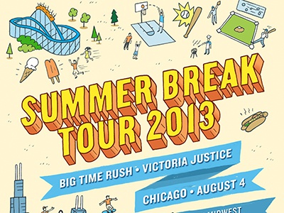 Dribbble summer break