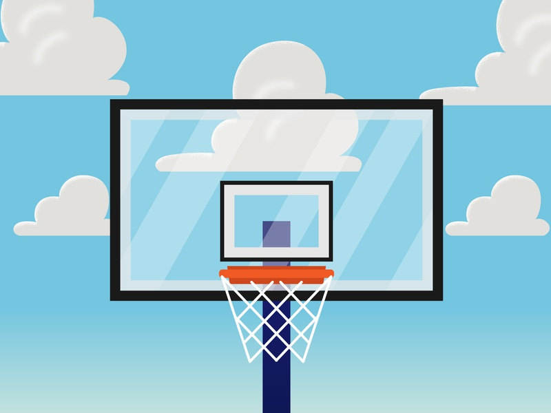 Basketball is Back! disney world disney wallpaper clouds toy story basketball hoop hoop orlando sports nba basketball digital vector illustration