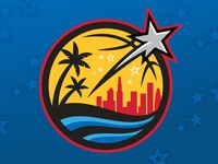 2018 NBA All-Star Secondary Logo