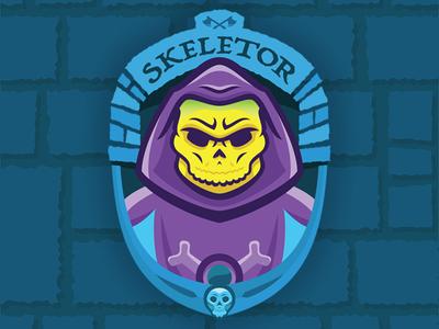 Skeletor Badge