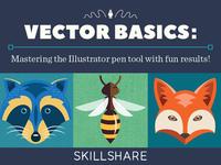Skillshare 'Vector Basics' class