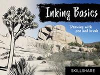 'Inking Basics' Skillshare Class