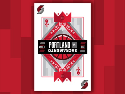 Blazers Gameday Poster contest