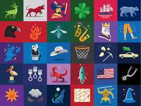 Basketball Icon Set