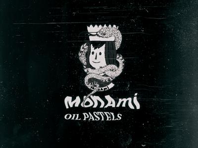 Monami oil pastels