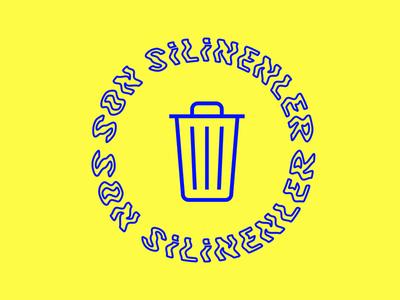 son silinenler logo recently deleted trash logo son silinenler