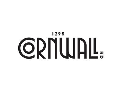 1295 Cornwall Road   Logo Proposal real estate art deco andrea ceolato new toronto 1295 road cornwall logo