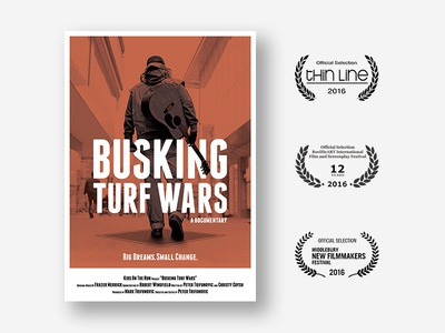 Busking Turf Wars - a documentary | Poster