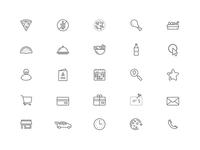 Food App Icons