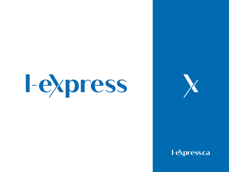 L-Express.ca | Logo canada journal toronto french newspaper visual  identity type refresh rebranding rebrand new logo mark logotype logo typography font design express l-express.ca branding