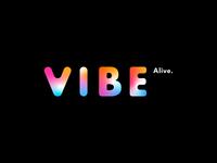 VIBE ALIVE   Branding