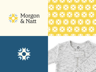 Morgon and Natt logo branding