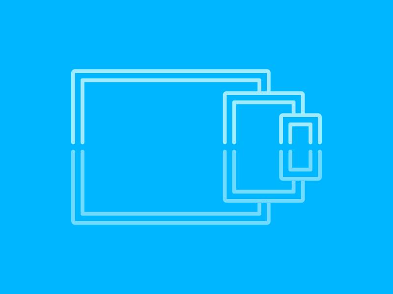 Responsive Icon reflect responsive icons