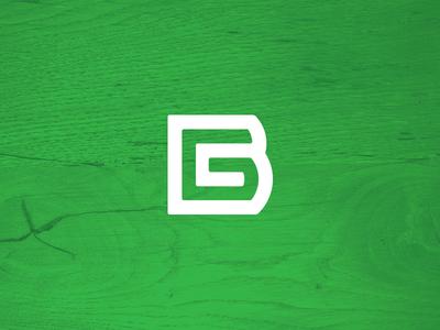 Personal Logo refresh logo portolio personal logo b g bg