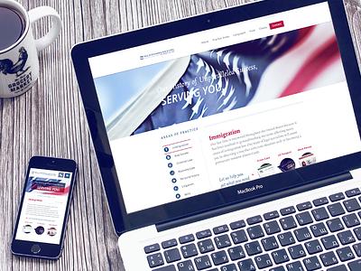 Spec Work web design spec work lawyer immigration murica