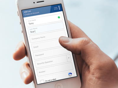 Form Mobile View app mobile form