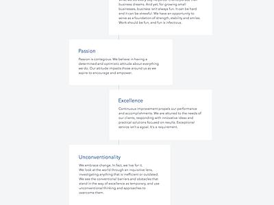 LSQ Funding Website Redesign marketing site homepage web site website web