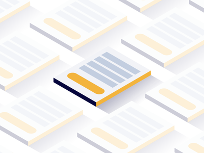 Forms! illustration isometric forms leadpages center