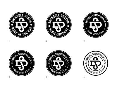 Swindoll Drum Badges badges drum round circle
