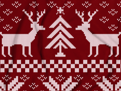 Christmas Sweater tshirt shirt sweater christmas reindeer tree pattern knit flower snow apparel