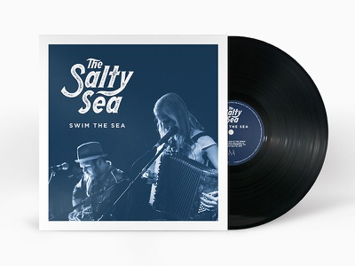 The Salty Sea album cover music packaging vinyl record