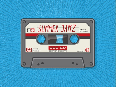 Summer Mixtape sermon series church mixtape music summer thick lines tape cassette