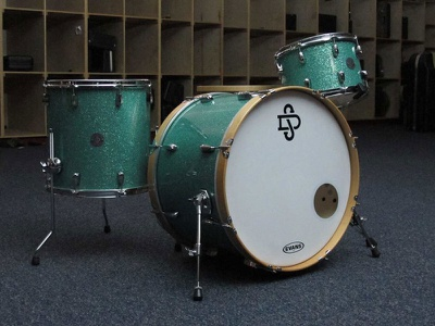 Swindoll Custom Drums Full Kit d s badge branding monogram drums