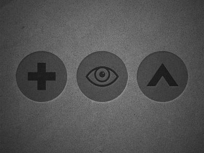 Student Ministry Icons student ministry icons church eye cross arrow circle