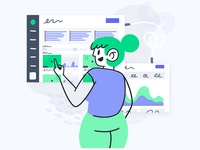 Vidyard for Marketing Demo Illustration