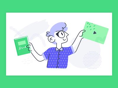 Knowledge Base knowledge base product illustration illustration video