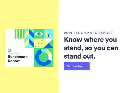 2019 Video in Business Benchmark Report branding vector graphic design design illustration analytics chart report design guide layout analytics report