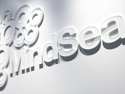 New Space. New Signage. development app mobile logo way finding mindsea signage