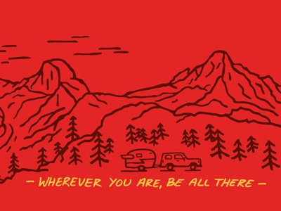 Be All There - Enamel Mug - Pt. 1