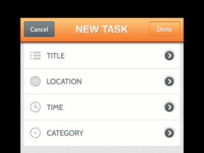 2Do Maps ui app iphone utility map todo retina