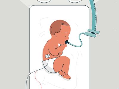 Newborn incubator hospital infant baby
