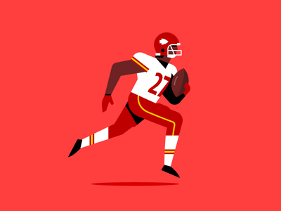 Football is back!! running back missouri kansas city touchdown fantasy football patriots chiefs nfl football