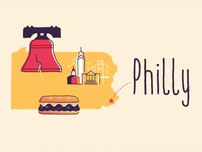 Philly cheesesteak liberty bell philly planet nutshell evp