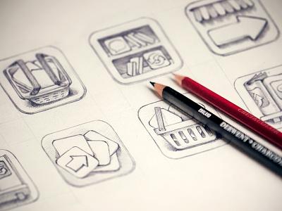 App Store icon artua icon sketch illustration pencil app store app store app icon