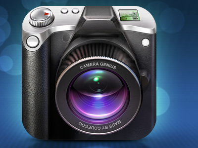 Camera Genius icon iphone photo camera artua