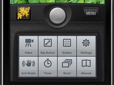 Camera Genius App Interface interface iphone photo camera app artua