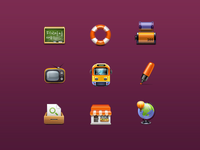 Some icons in 48x48