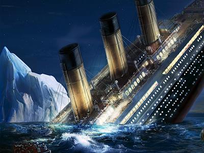 Escape the Titanic illustration artua icon illustration crop titanic ios game quest water moon ship boat