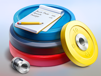 Weight Paper Application icon
