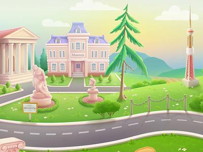 Maps.me onboarding animation branding logo 3d graphic design animation ui ios character illustration artua