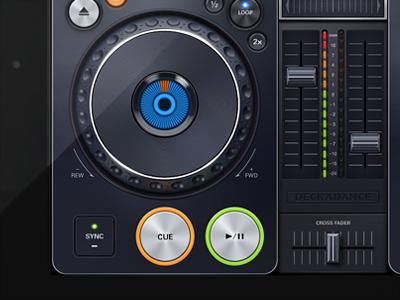 Deckadance DJ App for iPad ipad interface ios dj music app artua