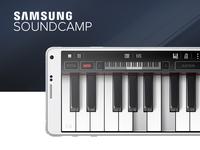 Samsung Soundcamp app design