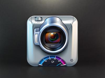Swift App Icon icon video camera artua