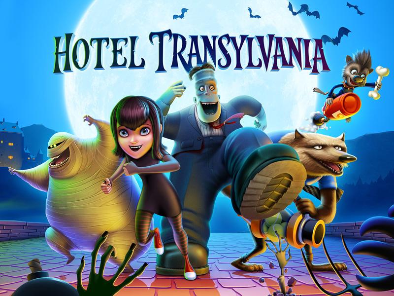 Hotel Transylvania 2 Application By Artua