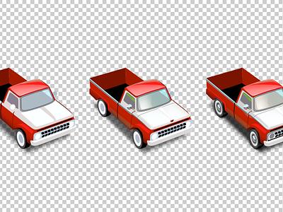 Pickup icon illustration car pickup artua