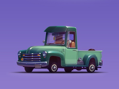 Chevy pickup 1950